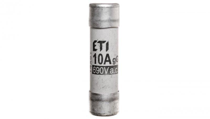 Wkładka bezpiecznikowa cylindryczna 14x51mm 10A gG 690V CH14 002630007