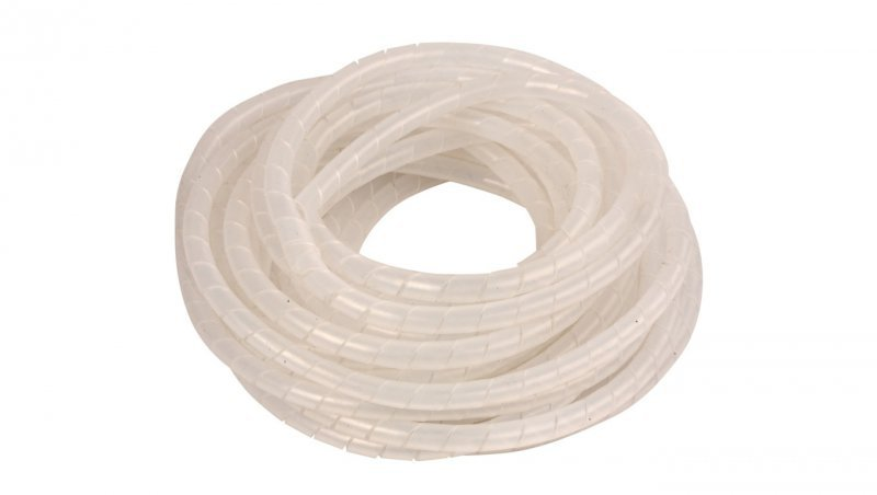 Wężyk ochronny spiralny WSN 12 transparentny E01WS-01010100500 /10m/