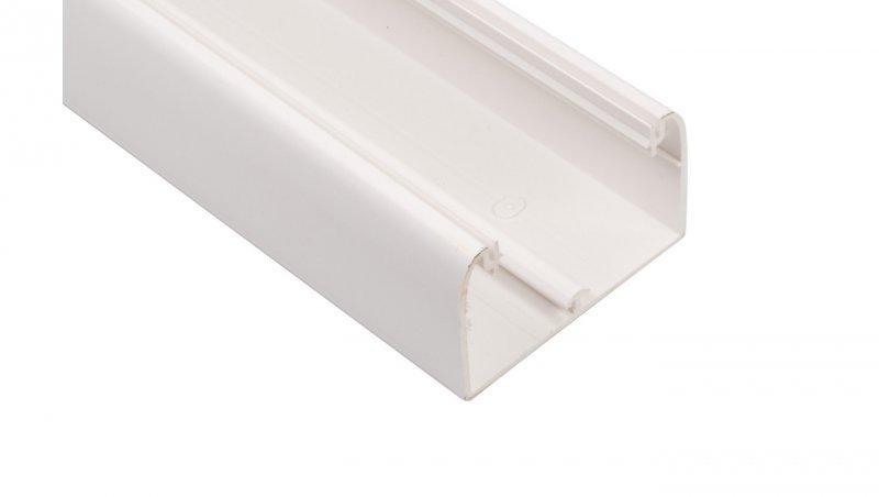 Kanał kablowy DLP 50x80 /bez pokrywy/ biały 010412 /biały/