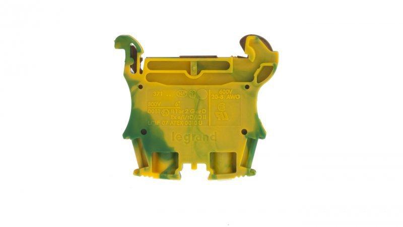 Legrand Złączka VIKING 6 mm2 zielono-żółta 037172
