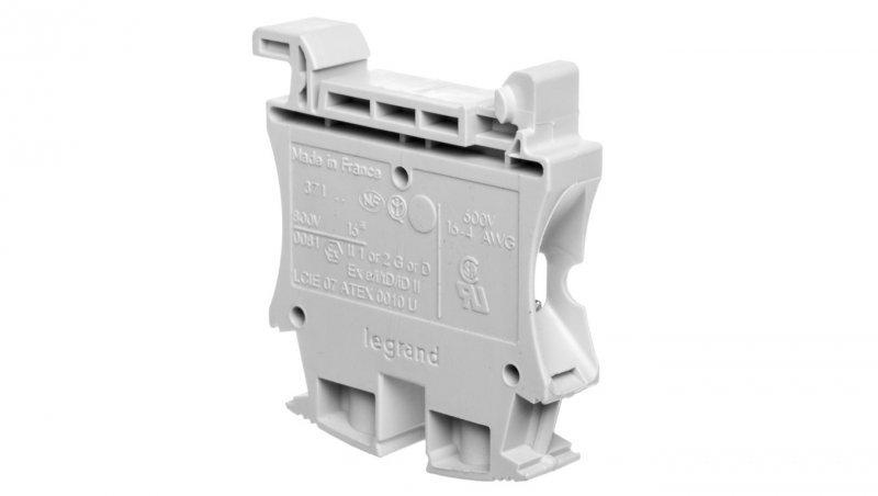 Legrand Złączka szynowa 2-przewodowa 16mm2 szara 037164