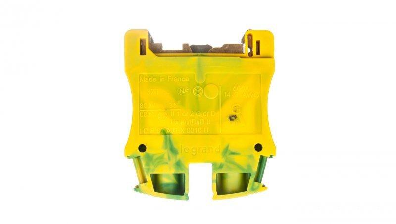 Legrand Złączka VIKING 35 mm2 zielono-żółta 037175