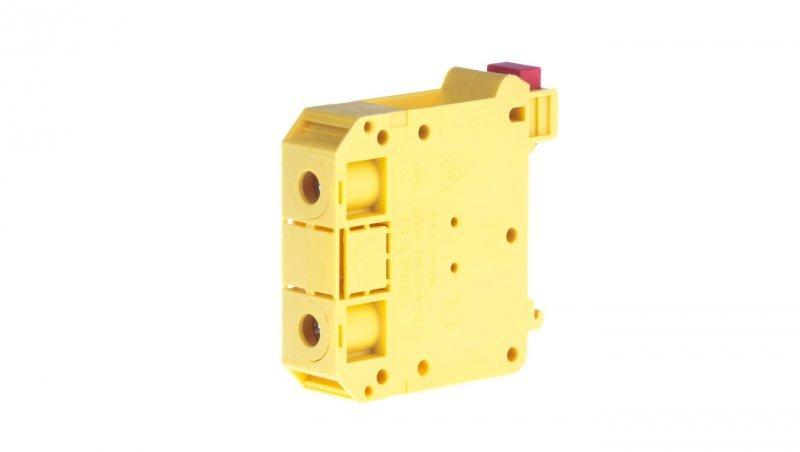Złączka szynowa 2-przewodowa 35mm2 żółta NOWA ZSG1-35.0Nz 11721314