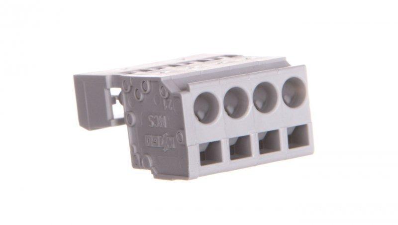 Wtyk MCS-MIDI Classic 4-biegunowy szary raster 5mm 231-604