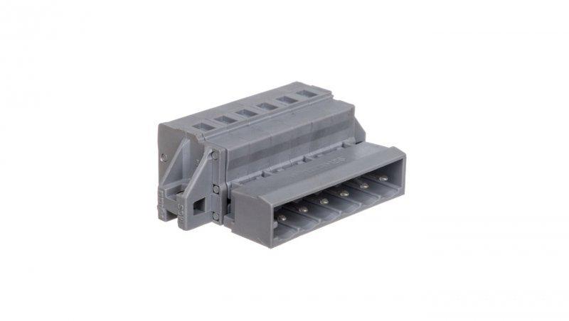 Wtyk MCS-MIDI Classic 6-biegunowy szary raster 5mm 231-606/019-000