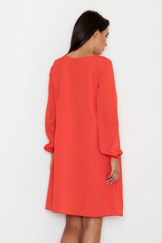 Sukienka Model M566 Red - Figl