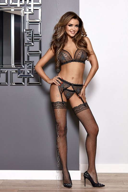 Stringi Model V-8358 Sky is the limit Black - Axami