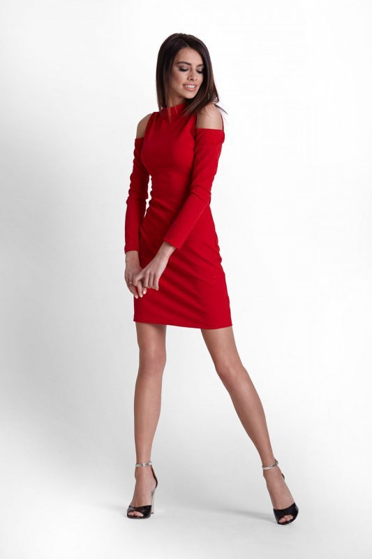 Sukienka Model Lara 243 Red - IVON
