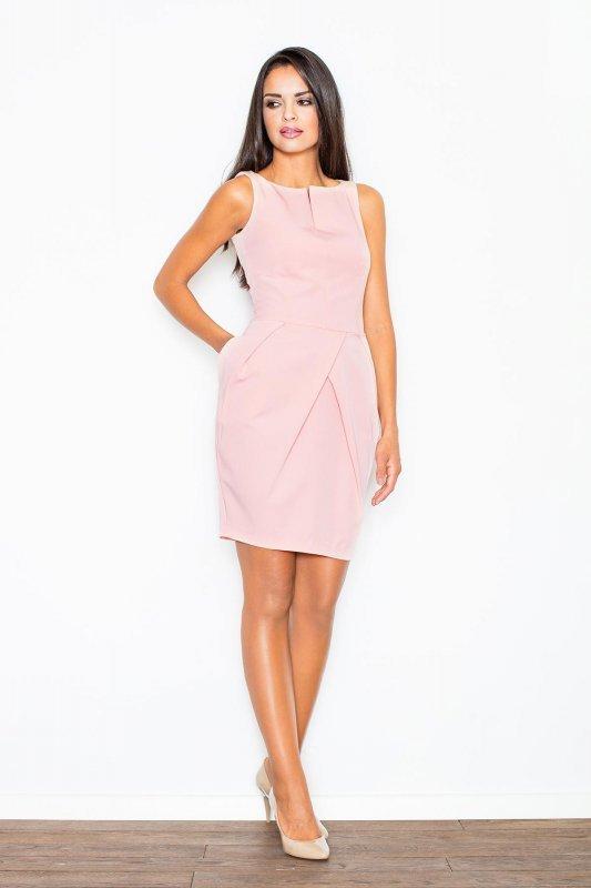 Sukienka Model  243 Pink - Figl