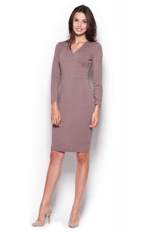 Sukienka Model 264 Brown - Figl