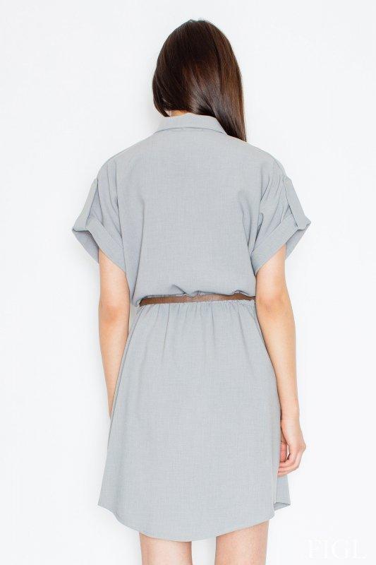 Sukienka Model M442 Grey - Figl