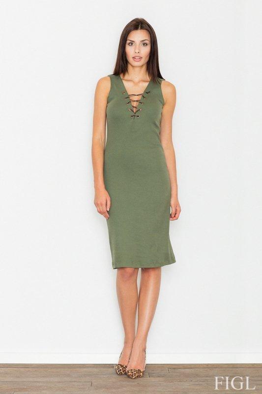 Sukienka Model M487 Green - Figl