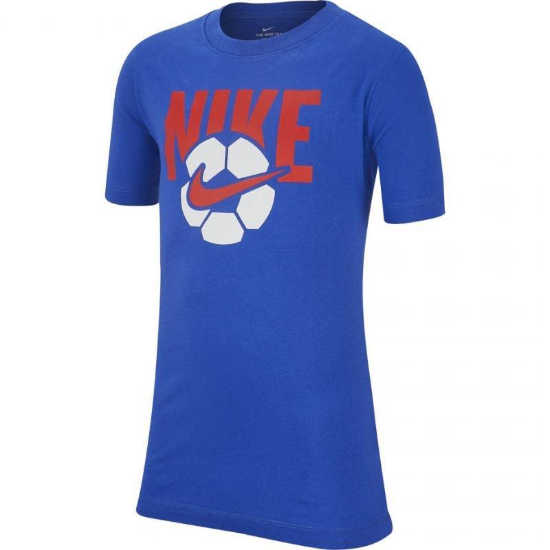 Koszulka Nike B NSW Tee Soccer Ball Jr AR5286 480
