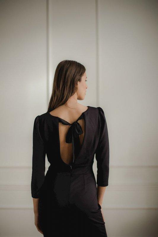 Sukienka L079 Czarny L