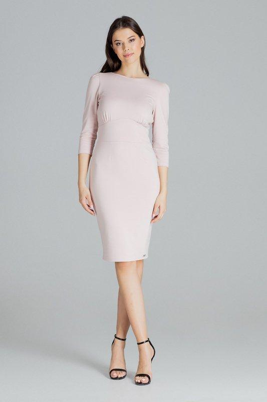 Sukienka L079 Róż M
