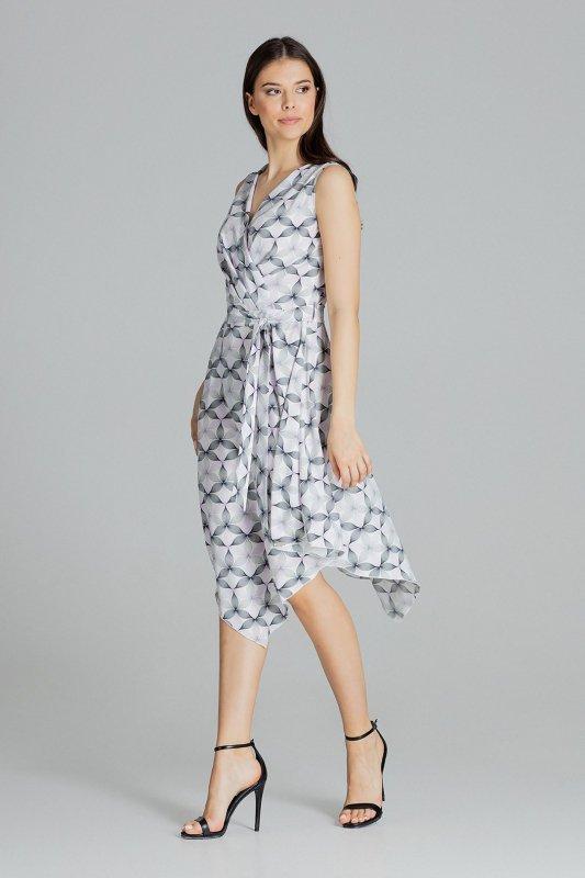 Sukienka L080 Wzór 113 XL