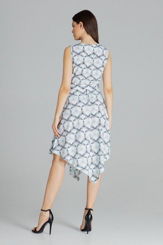 Sukienka L080 Wzór 114 M