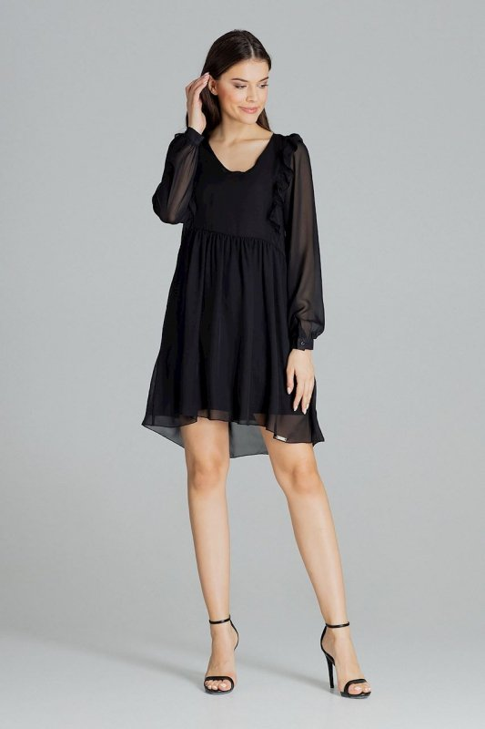 Sukienka L083 Czarny L
