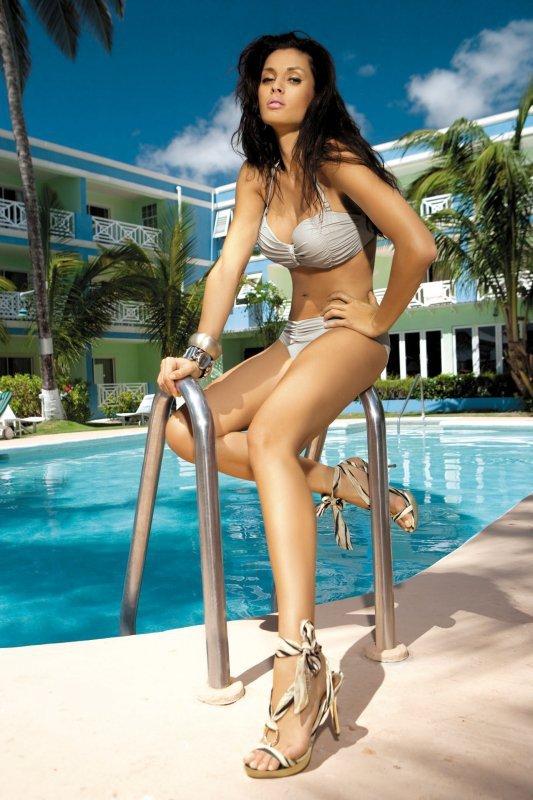 Kostium kąpielowy Eliza M-122 (11) Jasny Beż