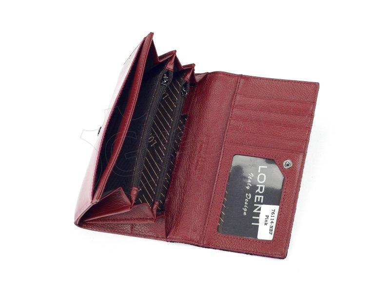 Damski Skórzany portfel Lorenti 76114-NBF