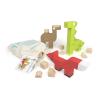 Drewniane klocki dla małych twórców - Ogród zoologiczny