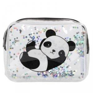 Lśniąca kosmetyczka - Panda