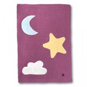 Hi Little One - kocyk muslinowy/ kołderka Day & Night Lavender
