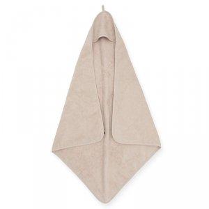 Jollein - Ręcznik kąpielowy z kapturkiem 75 x 75 cm FROTTE NOUGAT