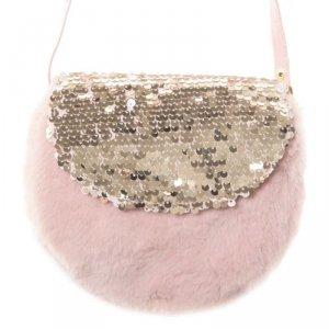 Torebka  dla dziewczynki Błyszczący Cekin Fur Bag - Rockahula Kids