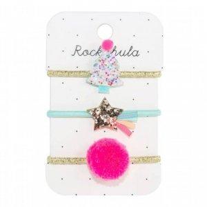 Rockahula Kids - gumki do włosów dla dziewczynki Tutti Frutti Xmas Tree