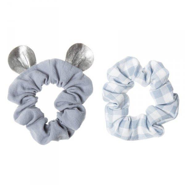 Zestaw gumek do włosów dla dziewczynki Mała Myszka - niebieskie