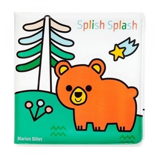 Książeczka dla dzieci do kąpieli i malowania - Zwierzęta Leśne