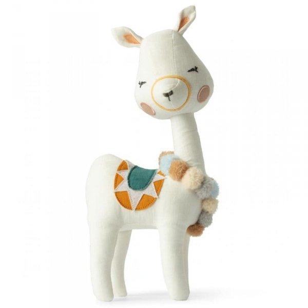 Przytulanka dla dziecka Pani Lama 27 cm w Luksusowym Pudełku Upominkowym - Picca LouLou