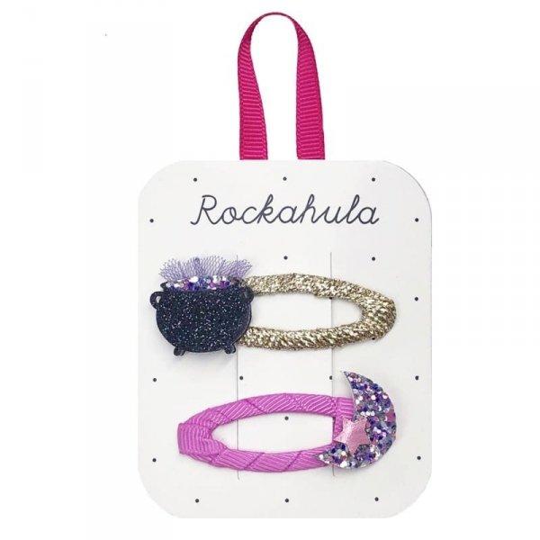 Rockahula Kids - spinki do włosów dla dziewczynki Hubble Bubble Clips Halloween