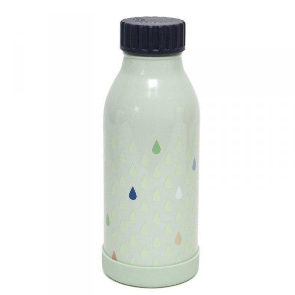 Butelka termiczna ze szlachetnej stali nierdzewnej -  Krople mięty