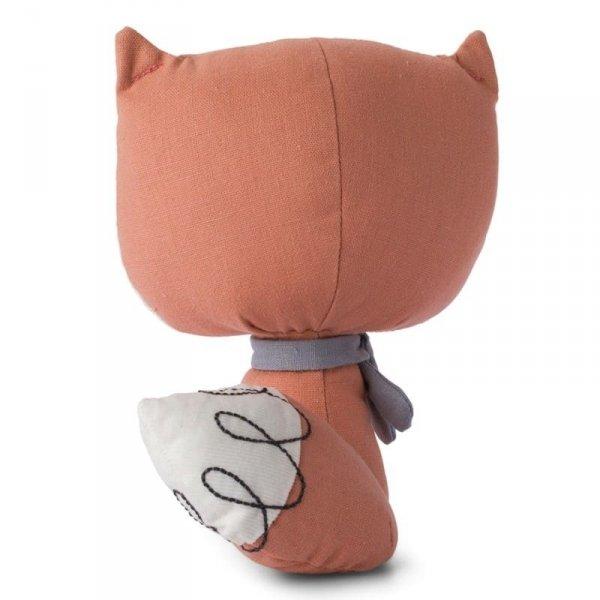 Przytulanka dla dziecka Pan Lisek Różowy 18 cm w Luksusowym Pudełku Upominkowym - Picca LouLou
