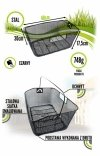 Koszyk na bagażnik siatka HT-017 tylny zakładany czarny