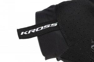 Rękawiczki KROSS Race Short 2.0 czarno-białe XXL