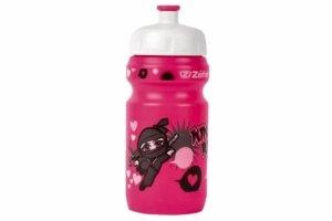 Bidon ZEFAL LITTLE Z- NINJA GIRL + zacisk, różowy