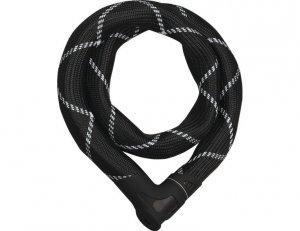 Zamknięcie KROSS ABUS IVEN Chain 8210 łańcuch 85cm czarne
