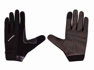 Rękawiczki rowerowe MERIDA POWER dł. palce M czarne