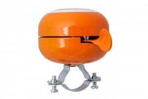 Dzwonek rowerowy pomarańczowy 60mm AMERICA