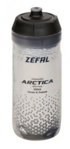 Bidon rowerowy ZEFAL ARCTICA 55 0,55l srebrno-czarny