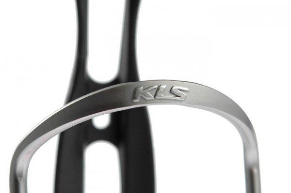 Koszyk bidonu KELLYS CALIBER aluminiowy czarno-grafitowy