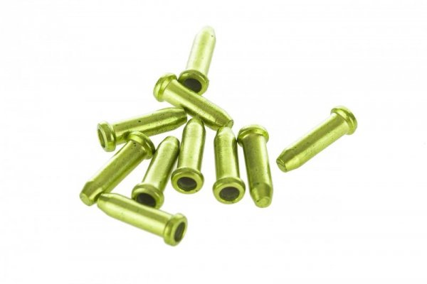 Końcówki linki ACCENT 2,3mm zielone 10sztuk
