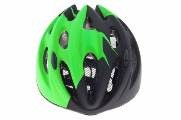 Kask KELLYS KLS BLAZE S/M 54-57cm czarno-zielony mat 2018 /green/