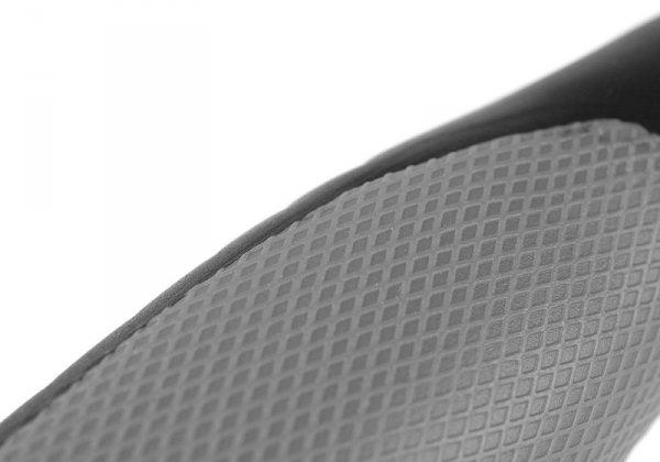 Chwyty rowerowe gumowe ERGO 135mm/92mm czarno-szary