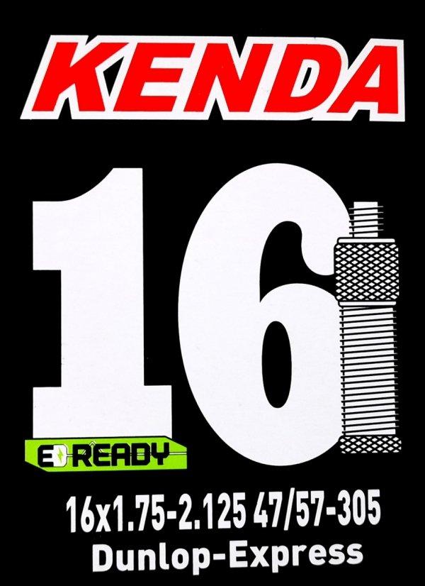 Dętka 16 x 1,75/2,125 KENDA DV-35mm Dunlop-Express