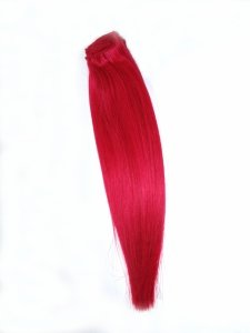 Pasmo Clip-in, 40 cm, kolor Hot Pink, 8 g