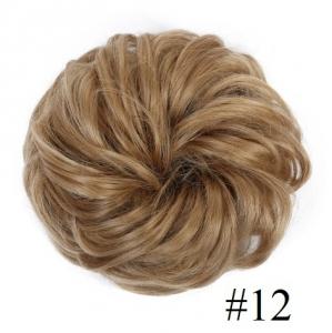 Kok na gumce bombka #12 - naturalny blond